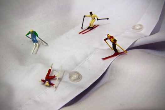 Shirt Skiers by RichOrridge