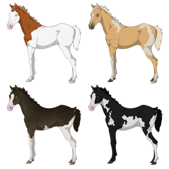 Thoroughbred Foal Sale -CLOSED- by Shitlet