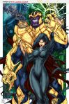 THANOS and the MISTRESS OF DEATH by Mich974