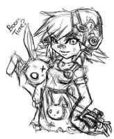 Tiny Tina Boom Time by meeki