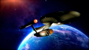 The Enterprise by PUFFINSTUDIOS