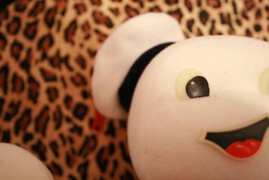 Minnie's Stay Puft Plushie by MinnieVicious