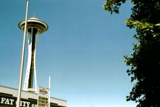 Space Needle by SaucyChik