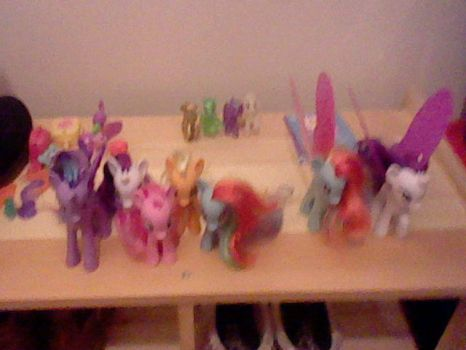 My MLP FIM collection by Rabbit-EYE