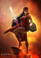 the Fury of Catra by clementmeriguet