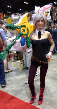 Megacon 2017 Battle bunny Riven by kingofthedededes73