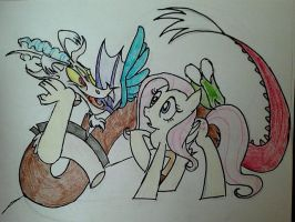 Discord's Losing His Head! by FillyBlue