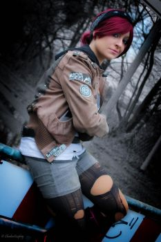 Abigail [Fetch] Walker - Infamous: First Light by AngelShadou