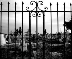 fence of cemetery by aliemraharp