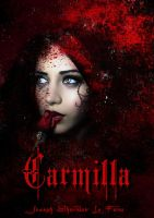 Bookcover Carmilla by babsartcreations