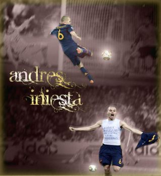 Don Andres Iniesta by hnl