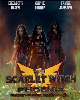 Scarlet Witch V Phoenix Poster (Group) by Art-Master-1983
