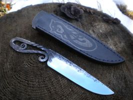 Viking knife by hellize