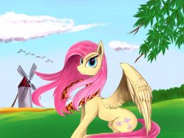 Fluttershy by LTH935