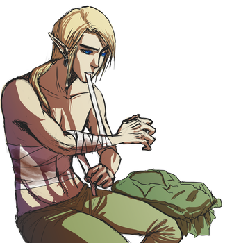 nother ponytail link by mayday-daywalker