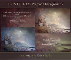 CONTEST-13 - Premade backgrounds by Euselia
