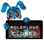 Toy Bonnie Roleplays Closed Stamp by Ink-cartoon