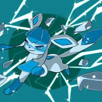 Glaceon used Ice Shard by MightyGenGar
