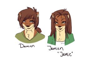 The Goodlett Siblings by Vixcoon