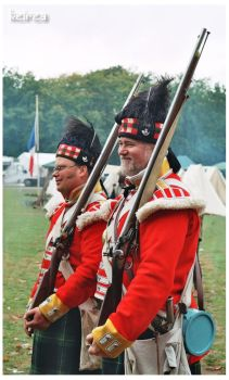 Scottish riflemans by Keirea