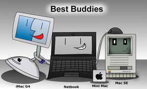 Best buddies :3 by Windows7StarterFan