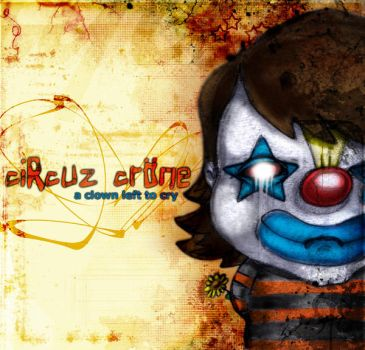 a clown left to cry by samowel