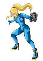 Zero Suit Samus New Super Smash Bros Boots by almightyminiman