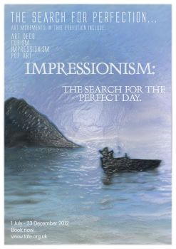 Impressionism Tate Modern Poster by POLY-NATION