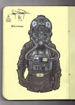 ANH Tie Pilot by BlitzJaeger