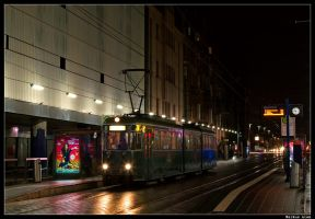 A rainy Evening by TramwayPhotography