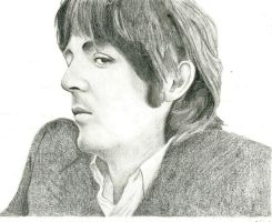Paul's stare by Macca4ever