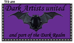 Stamp for Dark Artists United by Melanie-J-Howle