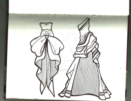 Two dresses by CiRy15