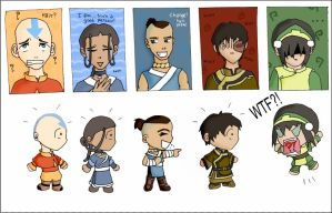 Old Avatar stuff...really old by beta-joovey