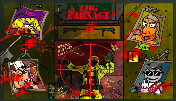 TMG Carnage: Loading Screen by Hrdcoreartist