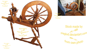 spinning wheel by piaglud