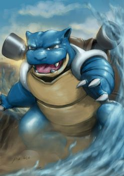blastoise!!!!! by themimig
