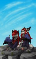 :listen to your heart: by L1nWerewolfess