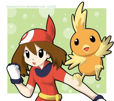 May and Torchic by daniwae