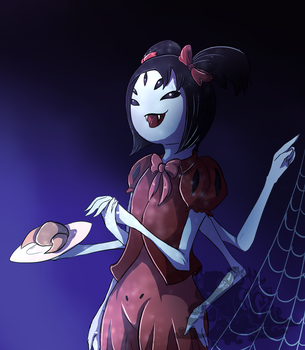 Muffet's spider pastries by Kuroleopard
