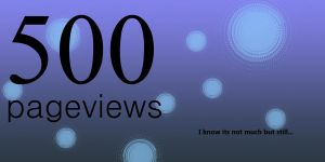 500 pageviews by Emil-ahl