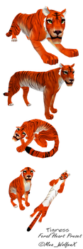 Tigress (Feral Heart Preset) - [For Sale] by MeaWolfenX