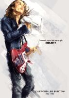 Clifford Lee Burton by Haizeel