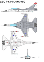 aidc f-ck-1 ching-kuo by bagera3005