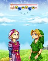 TLoZ Ocarina of time - back in time by Rebe-chan-vk