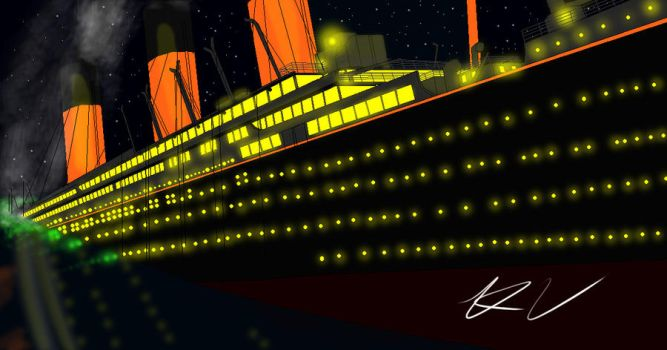 Titanic new by Admiral-Kevin