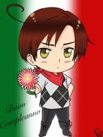 Happy Birthday from Chibi Romano by LucyXxNyuu13