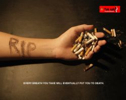 Anti smoking campaign by danieltty88