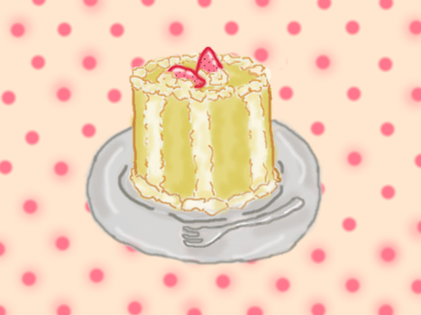 Pastel Cake Android Wallpaper by Icasma
