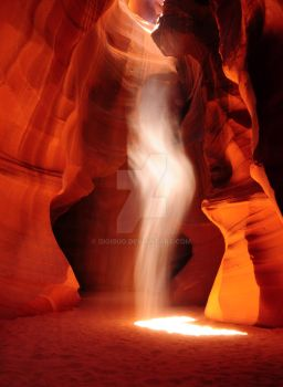 Antelope Canyon Dance by Digibug